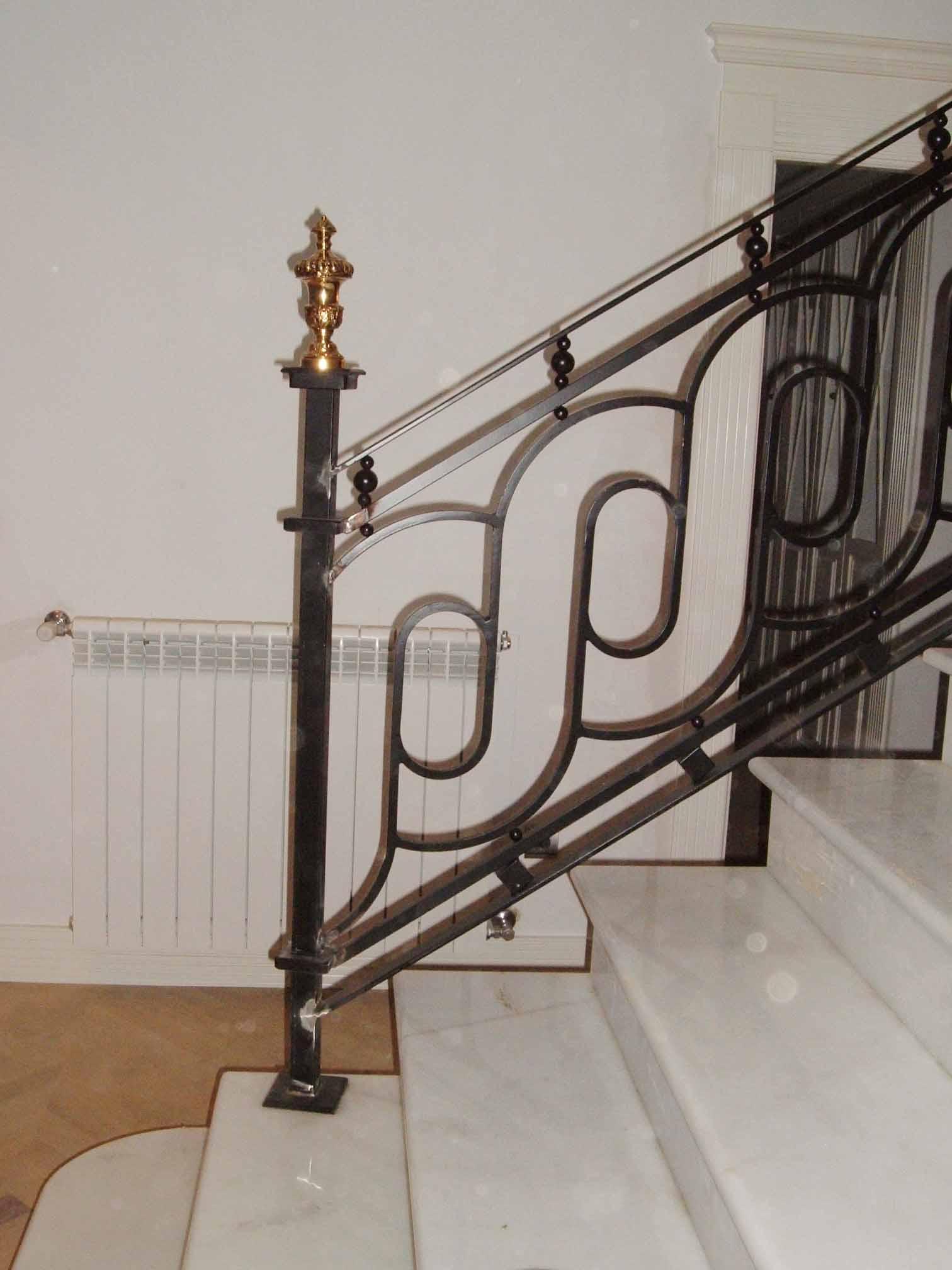 Fundiciones pardo - Barandas de forja para escaleras ...